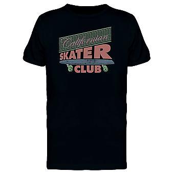 California Retro Skater Club Tee mężczyzn-obraz przez Shutterstock