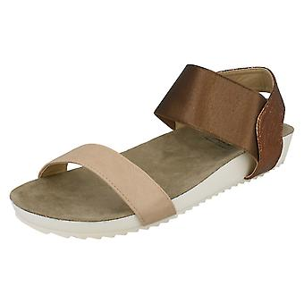 Ladies Down To Earth Flat Comfort Sandals