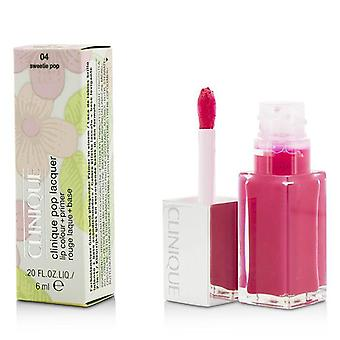 Clinique pop lac de buze culoare + primer-# 04 scumpo pop-6ml/0.2 oz