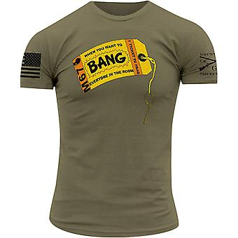 Grunt style Bang! T-Shirt-olive
