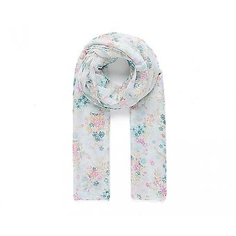 Intrigue Womens/Ladies Green Floral Pint Scarf