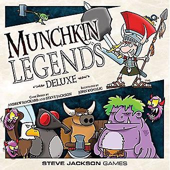 Steve Jackson games Munchkin Legends Deluxe nieuwe editie kaartspel
