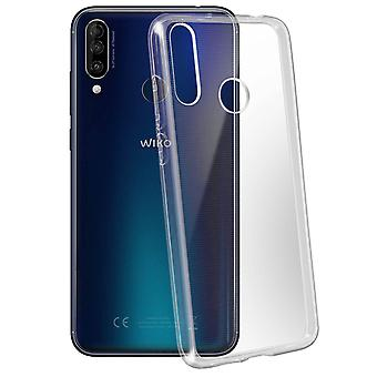 Wiko View 3 Soft Back Case Flexible Original Transparent