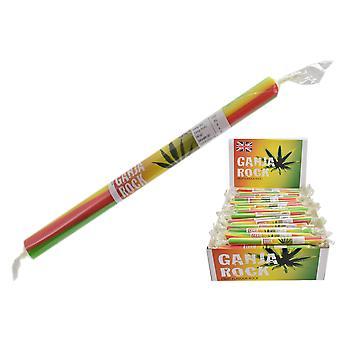 Pakke med 20 små flavored rock Sticks-Ganja