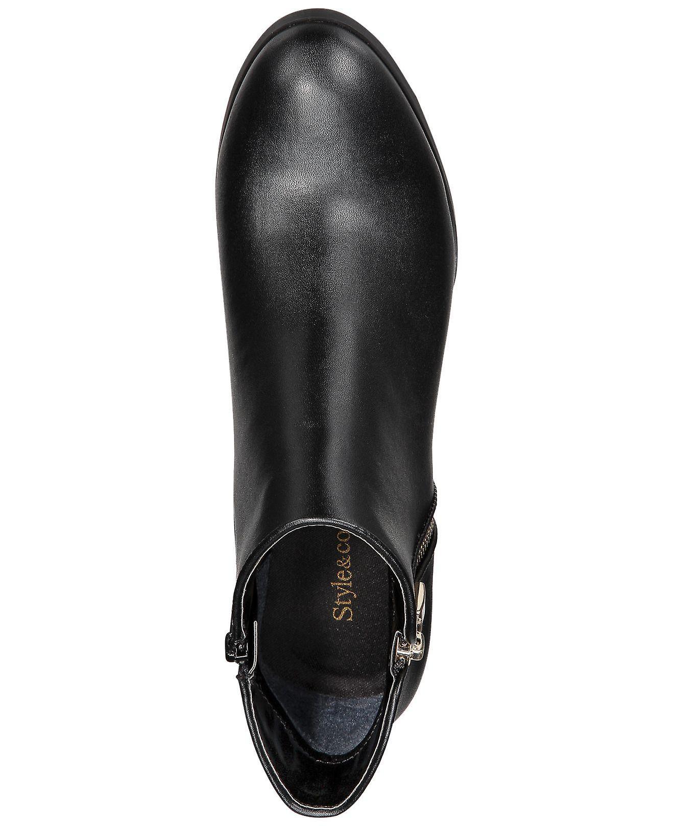 Style & Co. Womens Jamila Closed Toe Ankle Fashion Boots