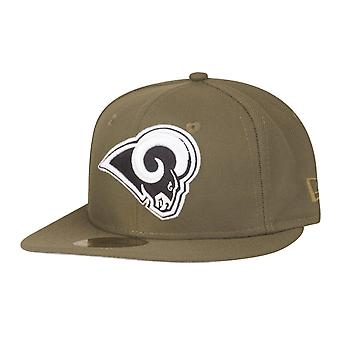 New Era 59Fifty Kids Cap - NFL Los Angeles Rams Olive