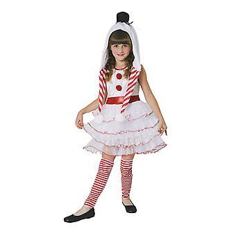 Bristol uutuus lasten/tyttöjen snowgirl puku