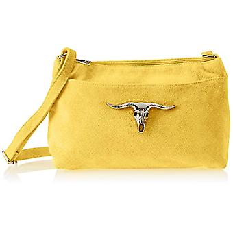 Chicca Bags 8650 Women's shoulder bag Yellow 29x17x8 cm (W x H x L)
