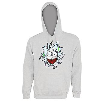 Rick and Morty Rick Face Hoodie