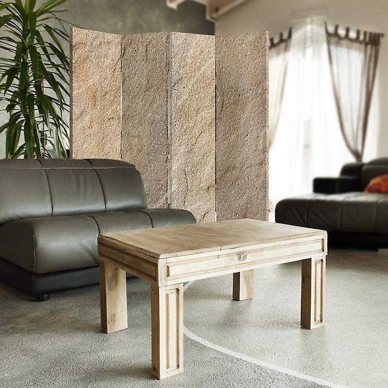 Room Divider, 4 panneaux, Double-Sided, Rotatable 360 ?? - Toile, Imitation de rendu