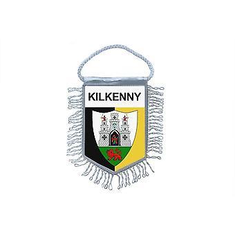 Sinalizar mini bandeira país carro decoração lembrança Blason Kilkenny