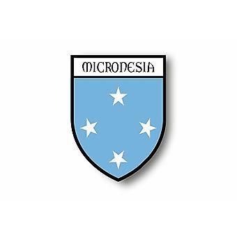 Adesivo Adesivo Adesivo Auto Blason City Micronesie Micronesie