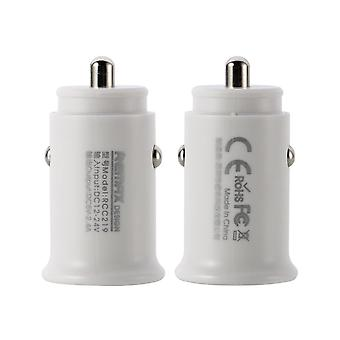 Remax Mini Car Charger, 2pcs socket-2.4 A Max