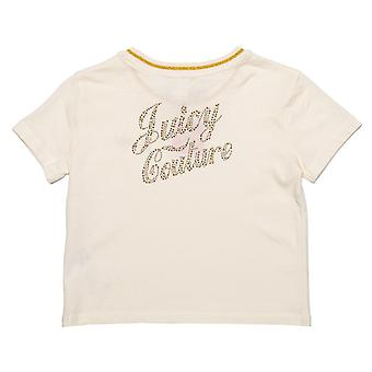 Säugling Mädchen Juicy Couture Berry T-Shirt In Off white - Kurzarm - gerippt