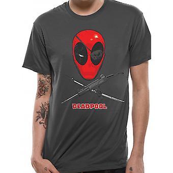 Marvel Deadpool - Crossbones T-Shirt