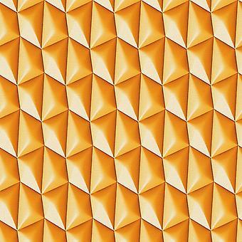 3D Wallpaper geometrisch Retro textuur Vinyl Paste de muur Funky als schepping