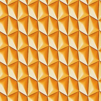 3D Wallpaper geometrische Retro texturiert Vinyl Paste der Wand Funky als Schöpfung