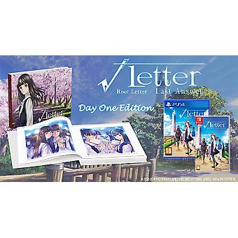 Root Letter Last Answer - Day One Edition PS4 Game