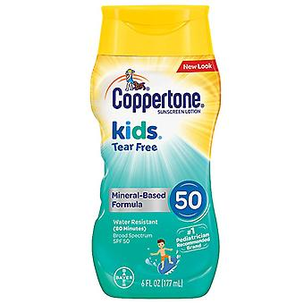 Coppertone kids tear free mineral sunscreen, spf 50, 6 oz