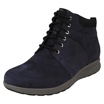 Ladies Unstructured by Clarks Ankle Boots Un Adorn Walk