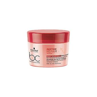 Schwarzkopf bonacure peptide repair rescue deep nourishing treatment 200ml