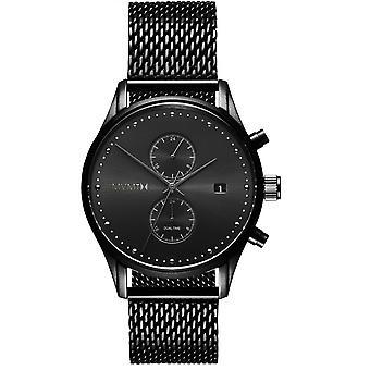 MVMT D-MV01-BL2 Watch-Milanese mäns svart Maille Watch