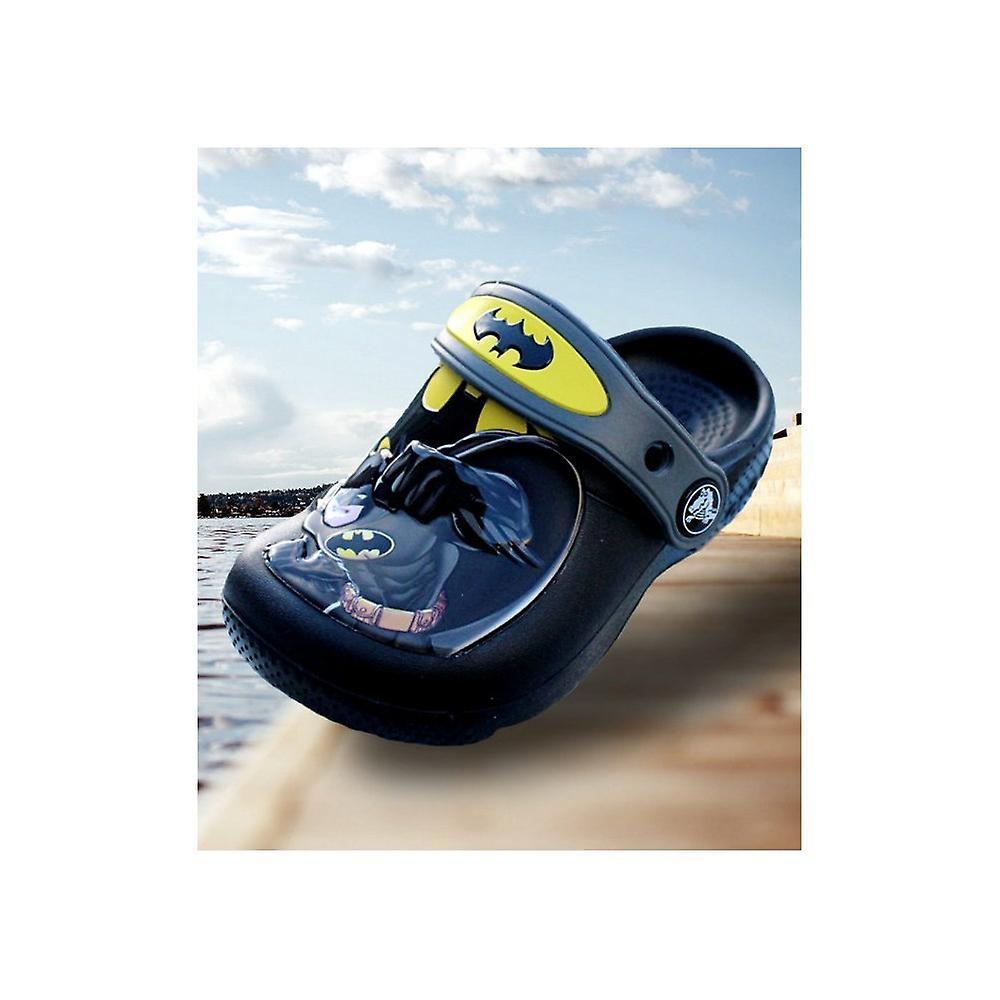 Crocs Kids Fun Lab Batman Clogs 205020black Universel Toute L'année Chaussures Pour Nourrissons
