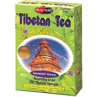 التبتية الشاي النعناع نكهة 90 مغلفات