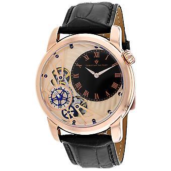 Christian Van Sant Men-apos;s Rose gold Dial Watch - CV1546