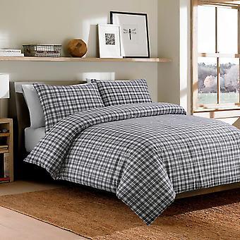 Bonton Flannel Bedding - 100% Brushed Cotton Duvet Cover and Pillowcase Set