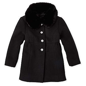 الأطفال & s مكان الطفل الفتيات اللباس معطف، أسود، 18-24MONTH