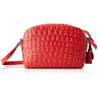 Tous TousShertonDonnaBorsa MessengerRed (Rojo 995890536) 19x14x5 centimeters (W x H x L)