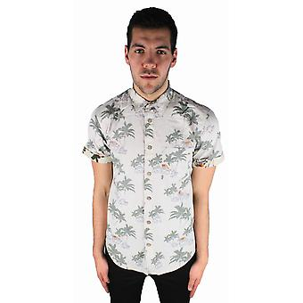 Jack and Jones Palm One Cream Casual Shirt