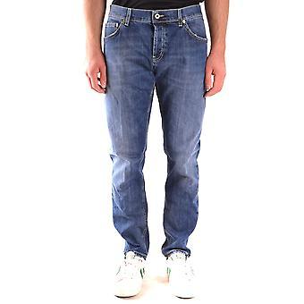 Dondup Ezbc051116 Men's Blue Cotton Jeans
