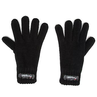 New Peter Storm Boy's' Thinsulate Knit Gloves Black