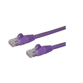 StarTech 5M lila Snagless CAT6 patch kabel