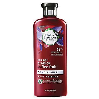 Herbal essences volume conditioner, arabica coffee & fruit, 13.5 oz