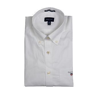 Gant Long Sleeve Broadcloth Shirt White