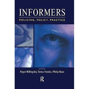 Informers  Policing policy practice by Billingsley & Roger