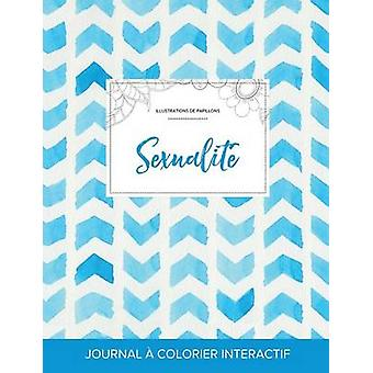 Journal de coloration adulte Sexualit Illustrations de papillons Chevron aquarelle by Wegner & Courtney