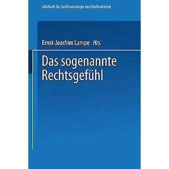 Das sogenannte Rechtsgefhl by Lampe & ErnstJoachim