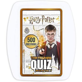 Top Trumps Quiz Game - Harry Potter