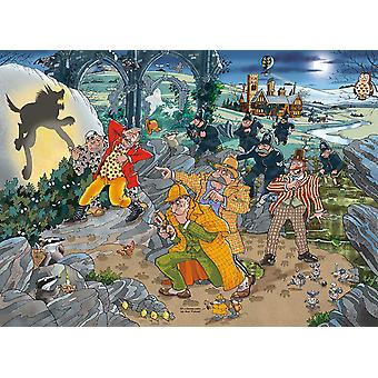 Wasgij Mystery 14 Hound of Wasgijville! Jigsaw Puzzle (1000 Pieces)