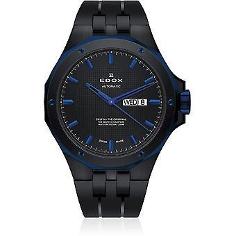 Edox - Armbanduhr - Herren - Delfin - Day/Date Automatic - 88005 357BUNCA NIBU