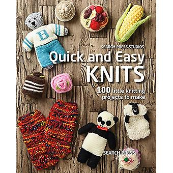 Quick and Easy Knits - 100 Little Knitting Projects to Make by Susan P