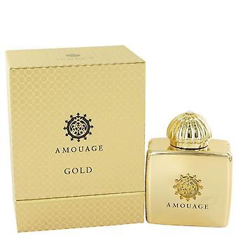 Amouage Gold Eau De Parfum Spray By Amouage 3.4 oz Eau De Parfum Spray