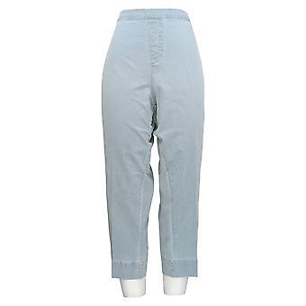 Isaac Mizrahi Live! Donne's Petite Jeans 24/7 Denim Ankle Blue A306934