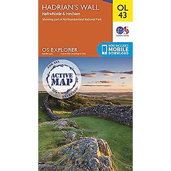 Hadrian's Wall - Haltwhistle & Hexham - 9780319475621 Book
