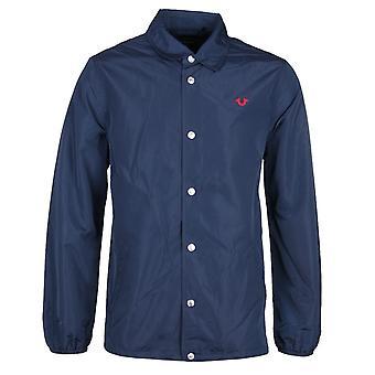 True Religion Navy Coach Jacket