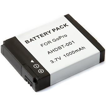 Replacement Battery for GoPro HD HERO Original & HD HERO2 Professional Cameras AHDBT-001 AHDBT-002